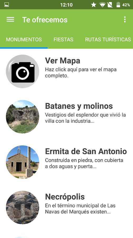 Turismo Las Navas- screenshot