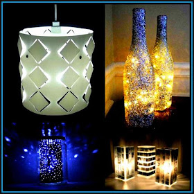 DIY Make Home Lanterns Paper Craft  Ideas Designs