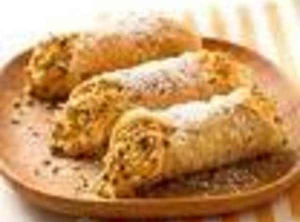 Pumpkin Pistachio Cannoli Recipe