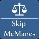 Skip McManes InjuryHelp LawApp icon