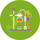 Chemistry - formulas reference icon