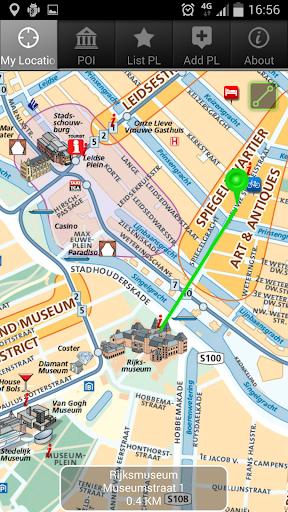 アムステルダム ザ・マップ 無料 The Map free
