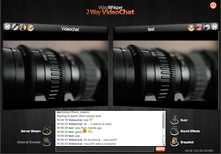 2Way VideoChat - private rooms- screenshot thumbnail