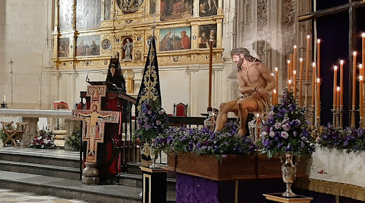 Un pregón providencial: Mª Jesús Mata hace historia en la Semana Santa de Toledo