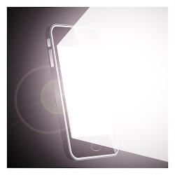 Bright White Screen Flashlight