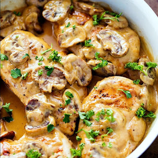 Creamy Chicken Marsala With Mushrooms Recipes