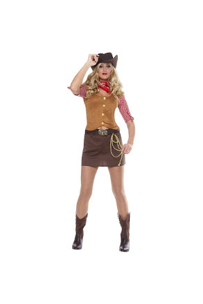 Dräkt, cowgirl