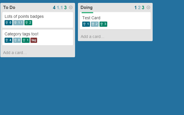 Points for Trello - Combined Edition