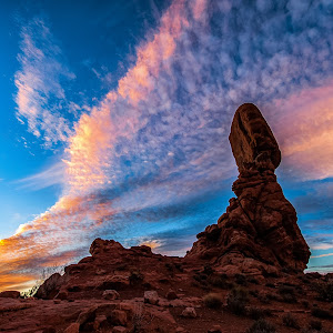 Balanced Rock Sunset Nik 2 (1 of 1).jpg