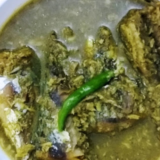 Mackarel Curry With Coconut.
