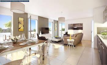 Appartement 4 pièces 85,15 m2
