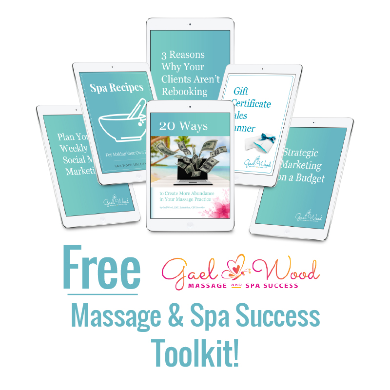 Free Gael Wood Massage and Spa Success Toolkit
