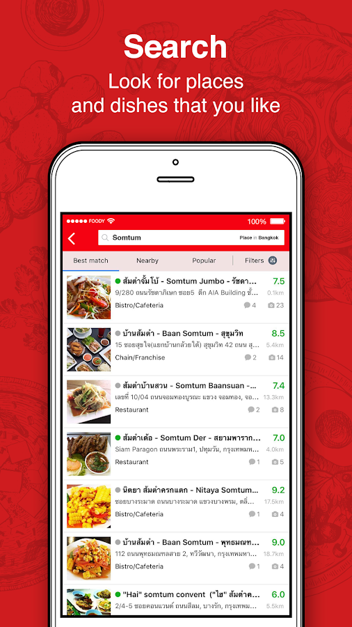 Foody - Discovery & Delivery- screenshot
