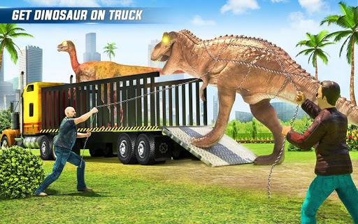 Angry Dino Zoo Transport: Animal Transport Truck 27 screenshots 5