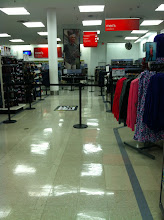 Photo: Heading back upstairs, I found the section of the store that was set up for the line of people they were expecting to see Mario Lopez.