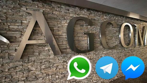 """Agcom contro WhatsApp e Telegram """"paghino gli operatori"""""""
