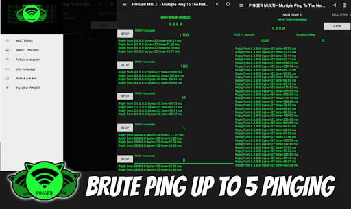 MULTI PING - Pinging To The Next Level 1.1.0 screenshots 2