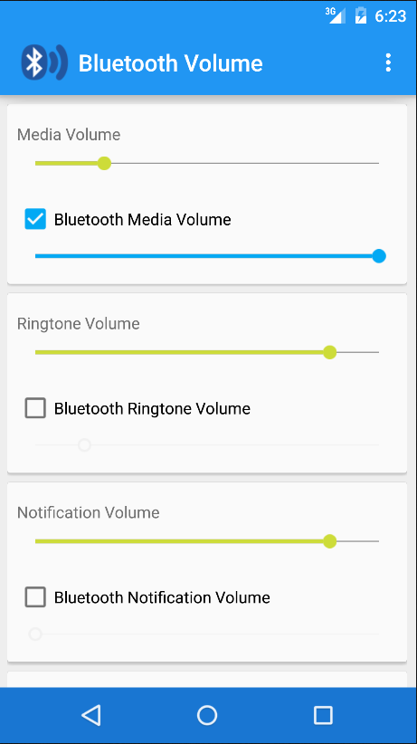 Bluetooth Volume- screenshot