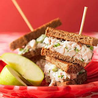 Parmesan Chicken Salad Sandwiches.