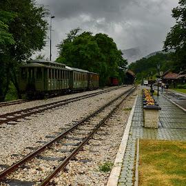 by Pe Tra - Transportation Railway Tracks