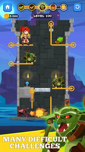 Hero Rescue - Unique Puzzle 1.0.6 screenshots 4