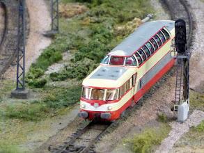 Photo: double-decker railcar
