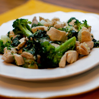 Ginger Lemongrass Chicken with Broccoli and Bok Choy (AIP / low FODMAP / SCD).
