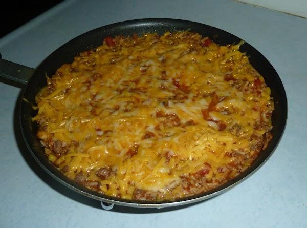 Quick Nacho Beef Skillet Recipe