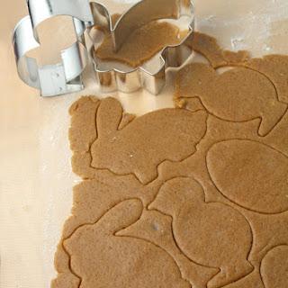 Gingerbread Easter cookies.