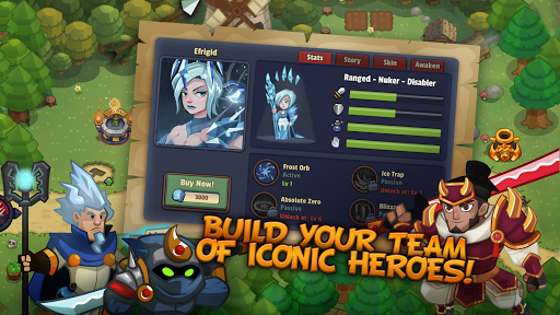 Realm Defense: Hero Legends TD Epic Strategy Game 2.1.6 screenshots 2