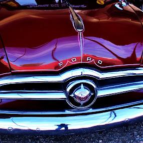 Reflective Ford by Jim Johnston - Transportation Automobiles (  )