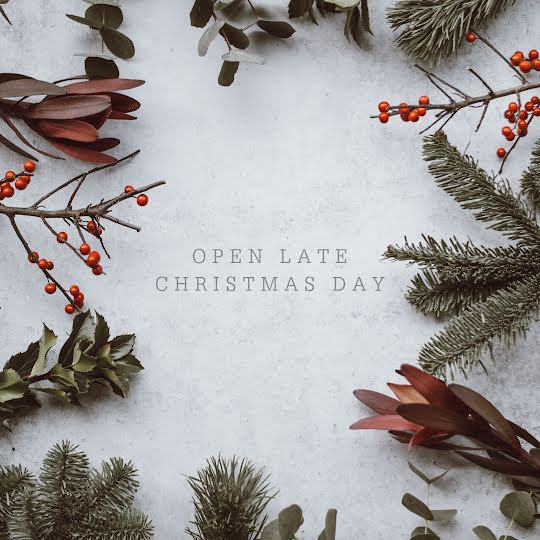 Open Late Christmas - Christmas Template