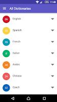 Screenshot of WordReference.com dictionaries