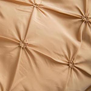 Lenjerie de pat Premium, 6 piese, finet, 200x220 cm, GALBEN