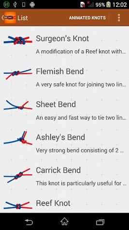 Knots — How to Tie Screenshot