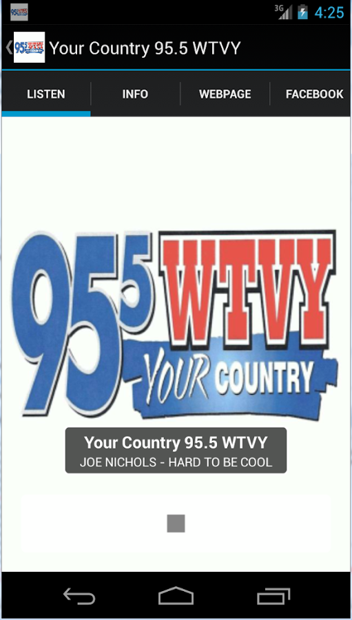 Your Country 95.5 WTVY- screenshot