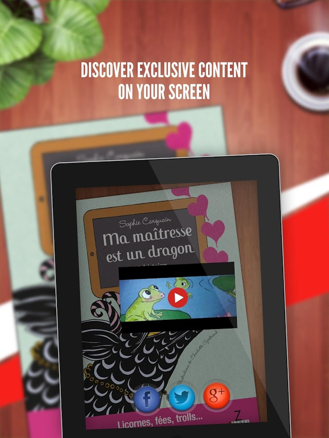 Marque-Page- screenshot