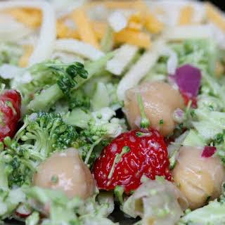 Broccoli Strawberry Salad.