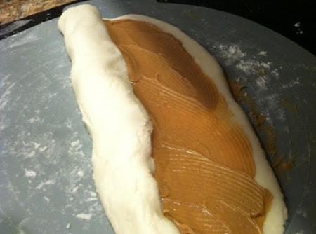 Pinwheel Peanut Butter Candy Recipe
