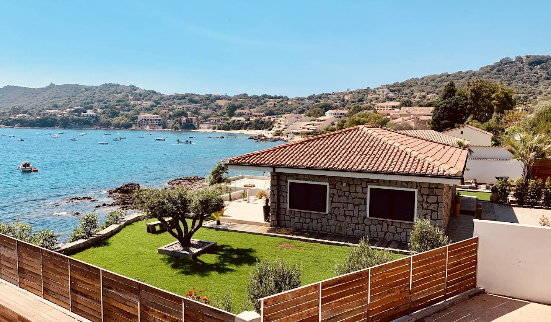 Villa en bord de mer avec jardin Casaglione