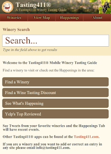 Tasting411® - Virginia- screenshot thumbnail