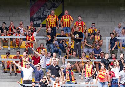 🎥 Enthousiasme geelrode aanhang amper te temperen bij terugkeer naar stadion, matchwinnaar viert zege in tribunes