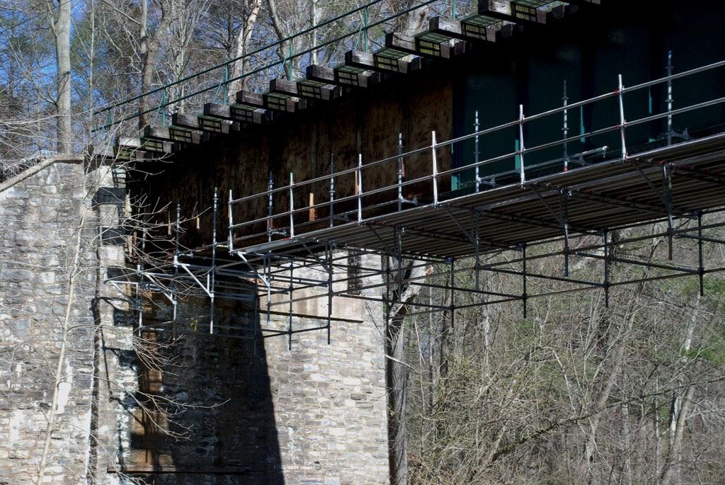 Hanging Bridge Platform Smedley Park Trestle Springfield