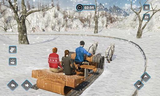Snow Dog Sledding Transport Games: Winter Sports 1.4 screenshots 5