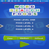 Word Search Foods