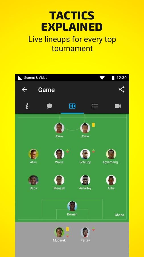 African Cup by Scores & Video- screenshot
