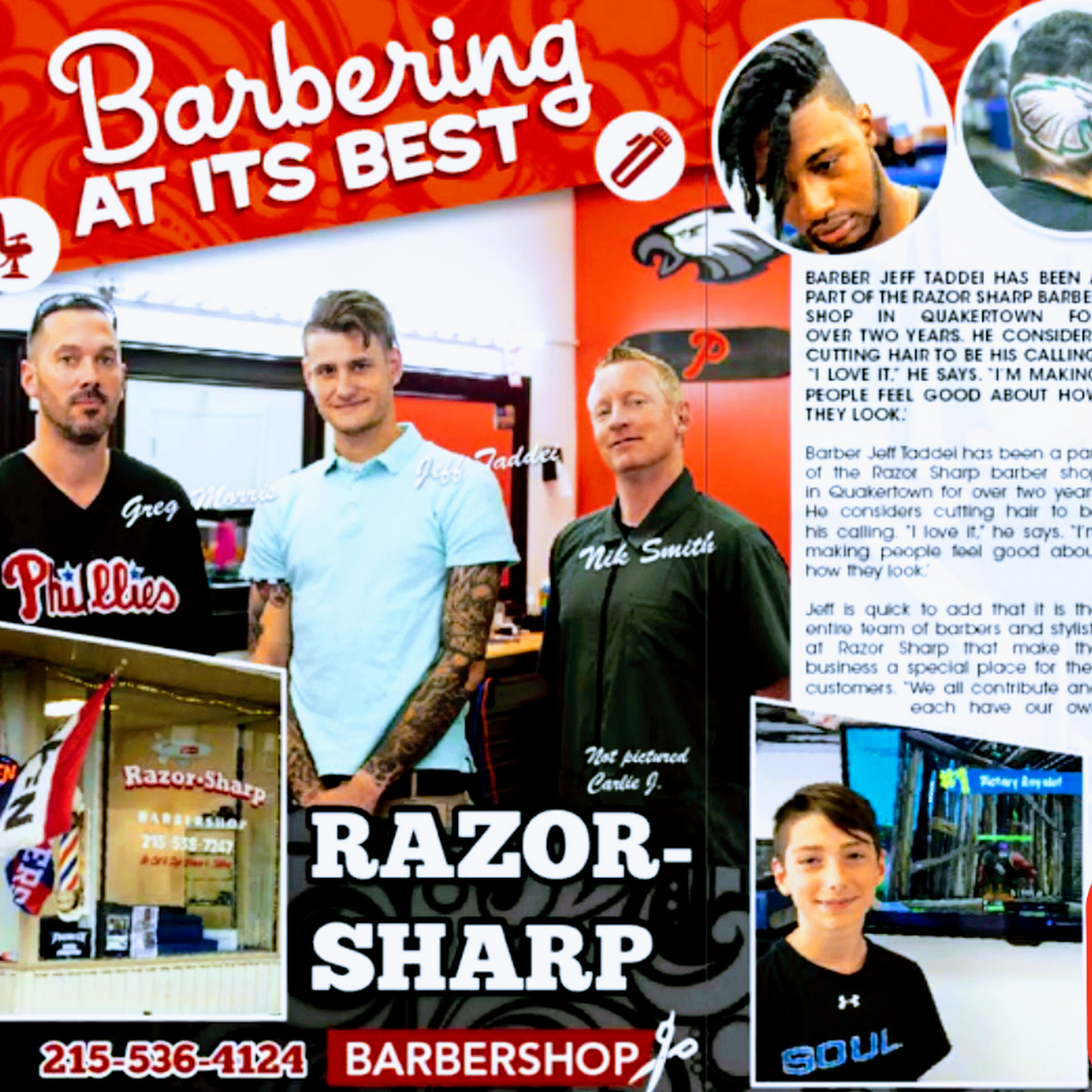 Razor Sharp Barbershop Barber Shop In Quakertown