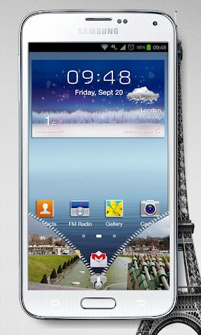android NEW PRAY PARIS SCREEN LOCK Screenshot 1