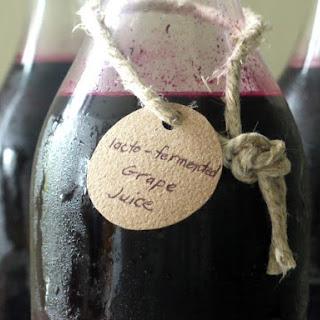 Lacto-fermented Grape Juice