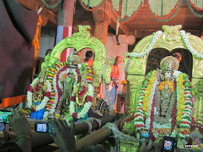 Photo: ready for puRappAdu back to temple